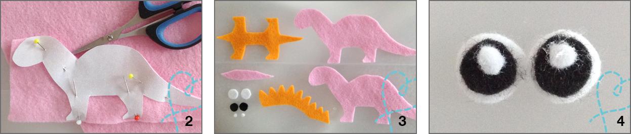 Dino stap 2-3-4