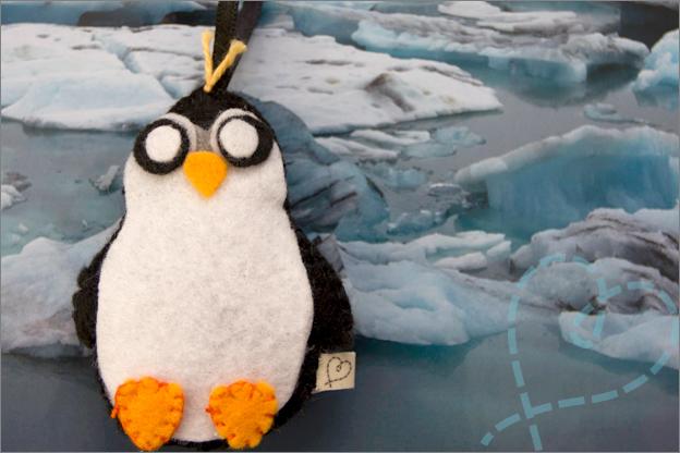 sfeerfoto Pinguïn Vilt