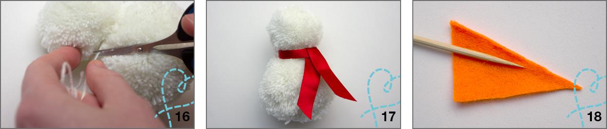 sjaal sneeuwpop