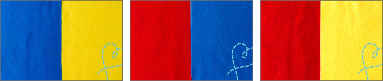 Combineren van kleuren nobody else creatieve blog - Kleur warme kleur cool ...