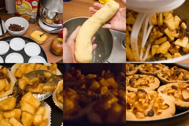 appeltaartjes maken