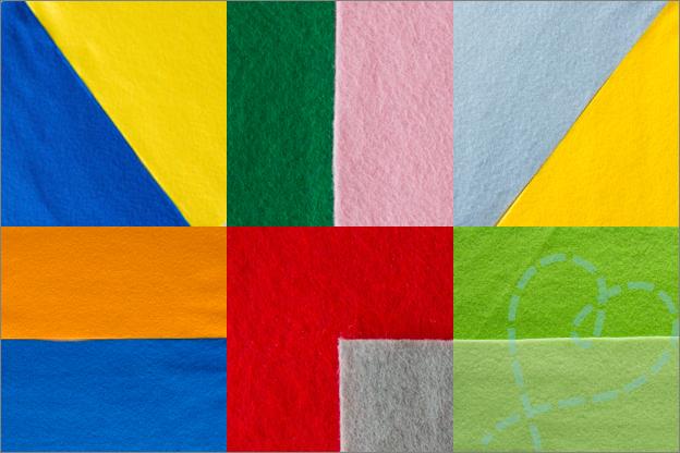 Sfeerfoto Combineren van kleuren