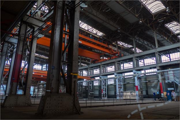 Stadswandeling Spoorzone Locomotiefhal