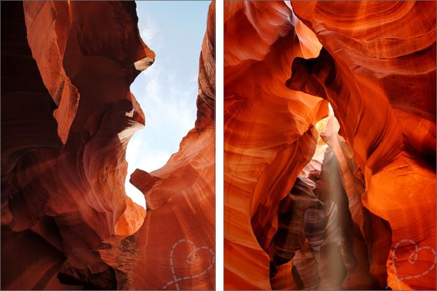 Antelope Canyon Foto