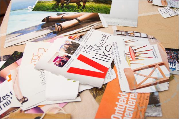 plaatjes uit tijdschriften