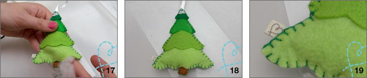 Kerstboom vilt