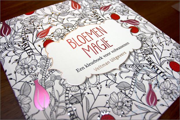 cover kleurboek voor volwassen