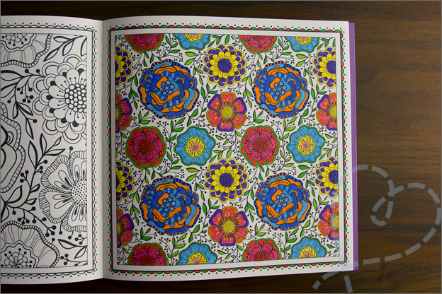 kleurplaat veel kleuren