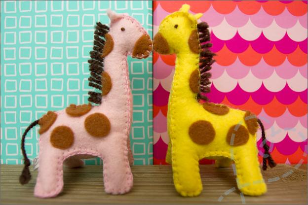 giraffe vilt patroon