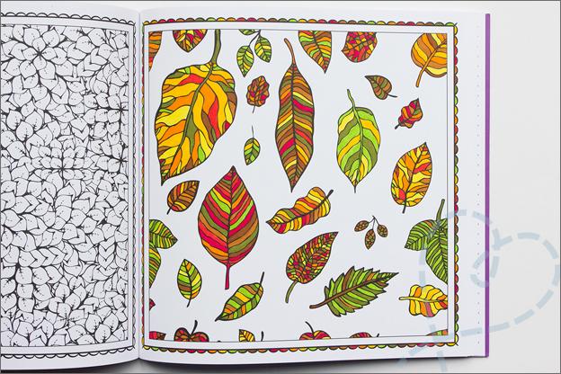 kleuren voor volwassen herfst