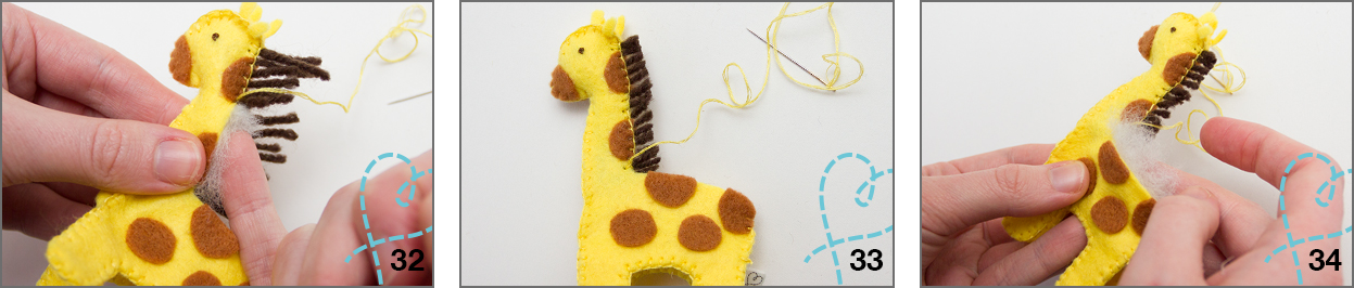 giraffe vilt