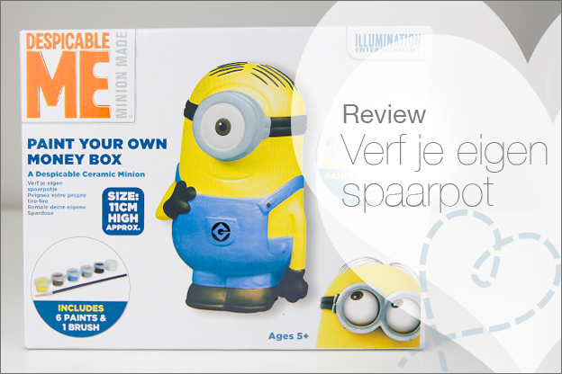 spaarpot action minion verven