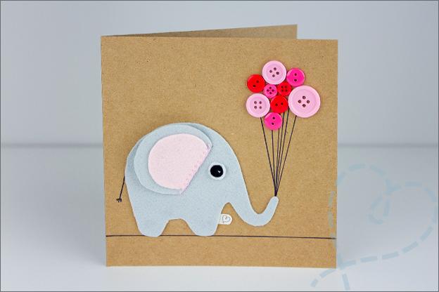 kaartje olifant
