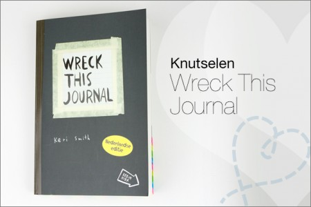 Knutselen: Wreck This Journal