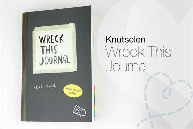 Wreck this journal voorbeelden