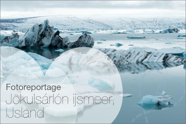 Jökulsárlón ijsmeer, IJsland foto's