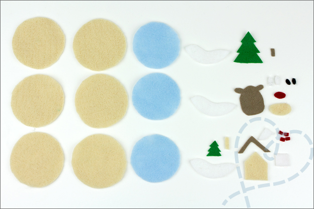 losse onderdelen kerstballen