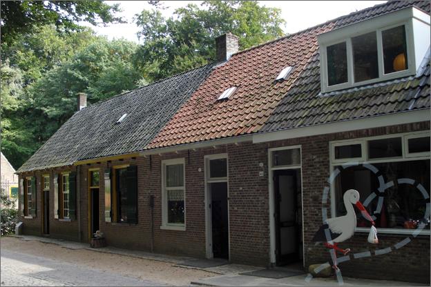 openluchtmuseum arnhem huisjes uit Tilburg