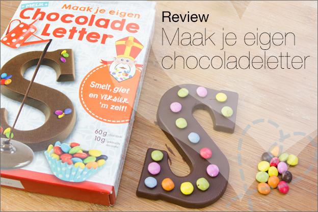 Maak je eigen chocoladeletter action