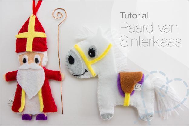 tutorial paard vilt sinterklaas