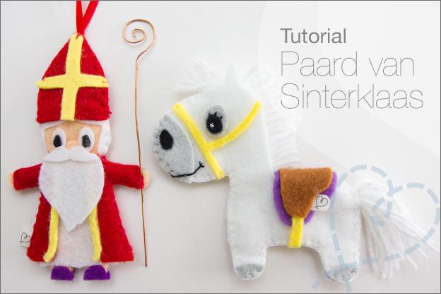 tutorial paard van vilt sinterklaas