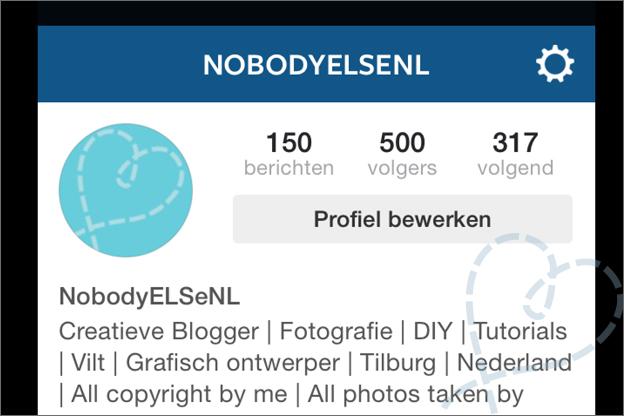 500 volgers instagram