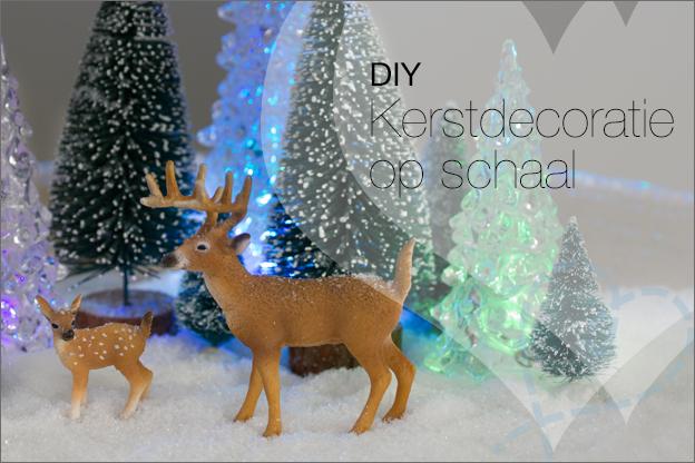 kerst schaal decoratie zelf maken