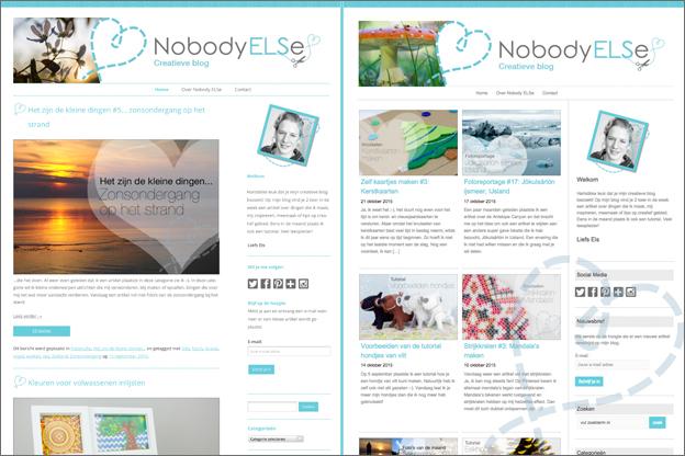 nieuwe layout