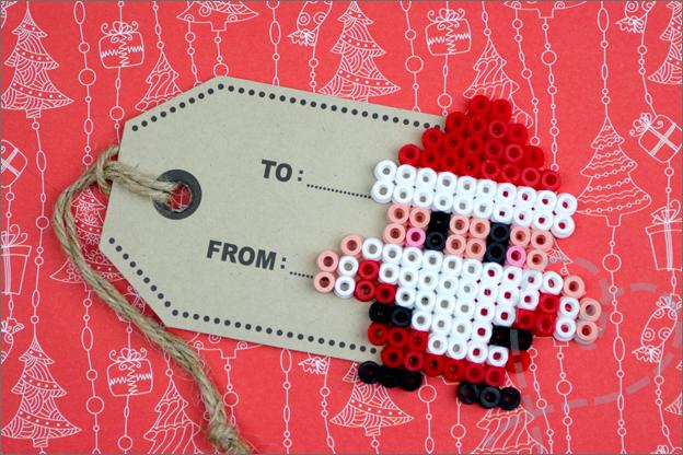 cadeaulabel kerstman