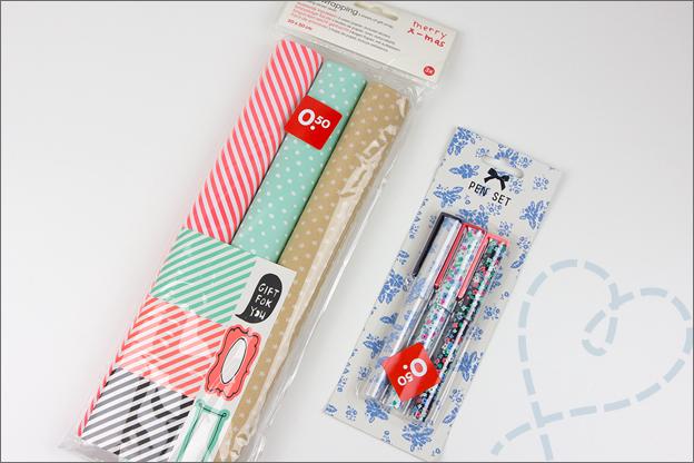 Shoplog_HEMA_inpakpapier_pennen