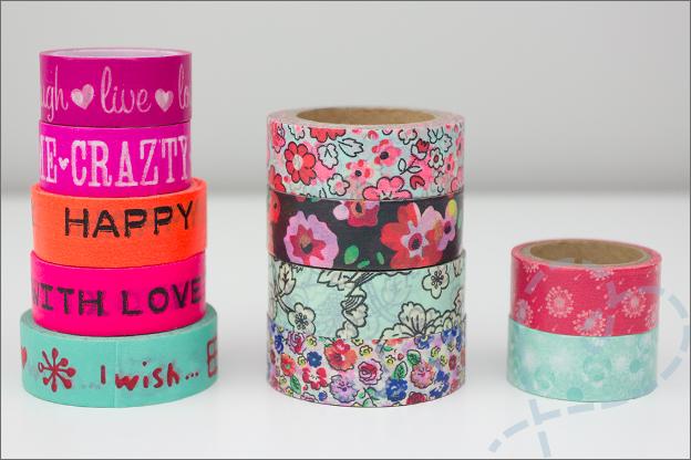 washi tape tekst bloemen