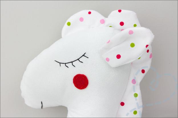 hoofd DIY paard