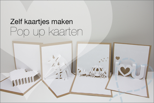 Zelf kaartjes maken #4: Pop up kaarten - Nobody ELSe : Nobody ELSe