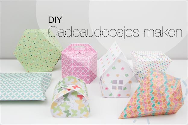 DIY cadeaudoosjes maken
