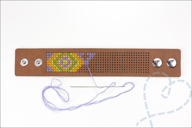 armband borduren kruidvat