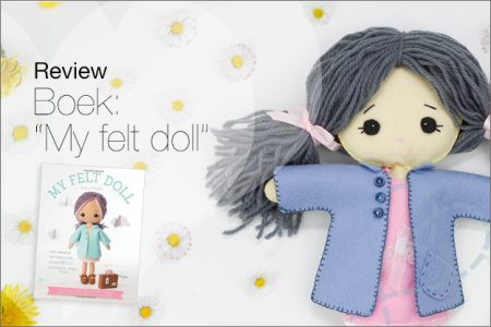 "Review: Boek ""My felt doll"" van Shelly Down"