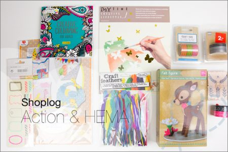 Shoplog: Action en HEMA