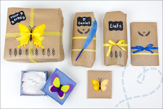 Cadeautjes ingepakt twitzomer