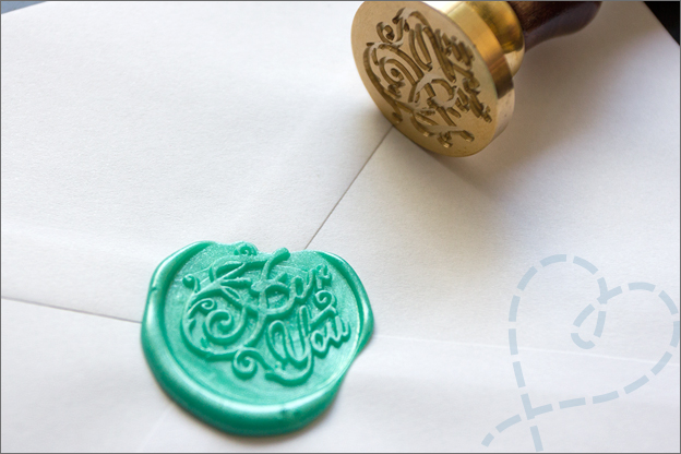 for you wax stempel groen