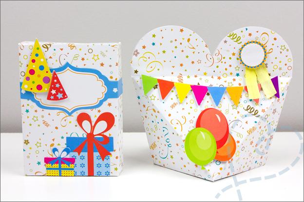 action cadeaudoosjes verjaardag