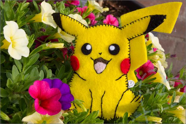 Pokémon Pikachu van vilt