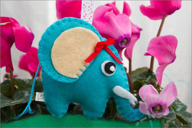olifant van vilt