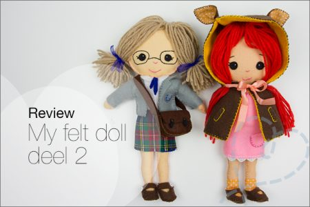 "Review: Boek ""My felt doll"" deel 2"