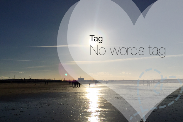 no words tag