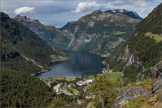 Reisverslag Noorwegen uitzicht geiranger geirangerfjord
