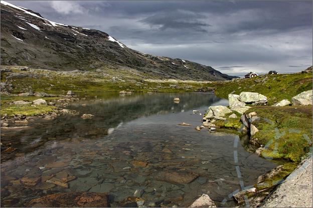 Helder water huisje Reisverslag Noorwegen
