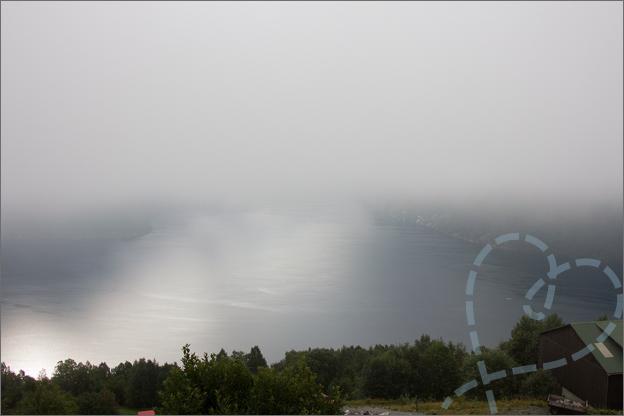 Reisverslag Noorwegen hellesylt geirangerfjord
