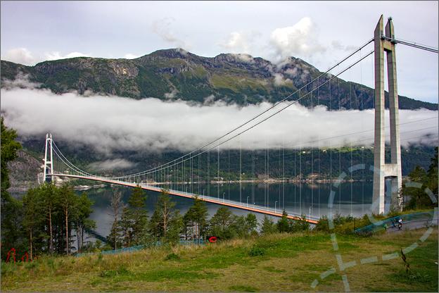 Reisverslag Noorwegen hardangerbrug