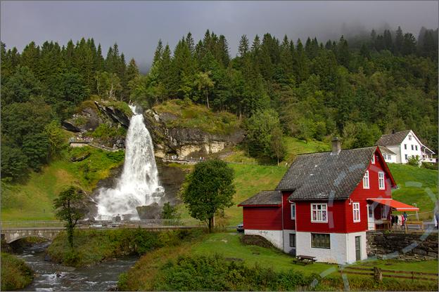 Steindalsfossen noorwegen reisverslag vakantie