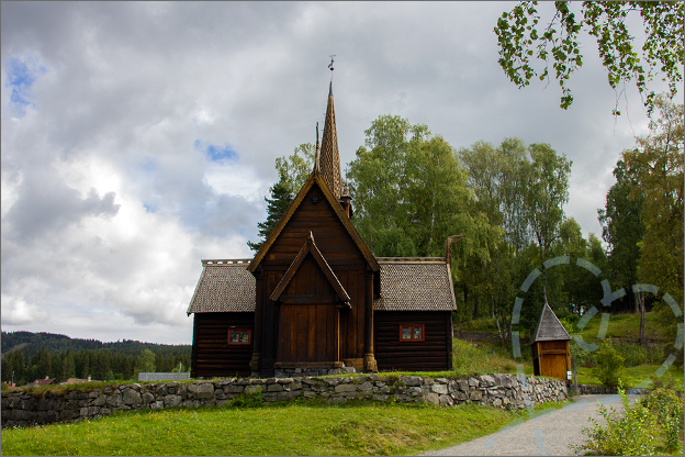 Reisverslag Noorwegen openluchtmuseum Maihaugen Lillehammer